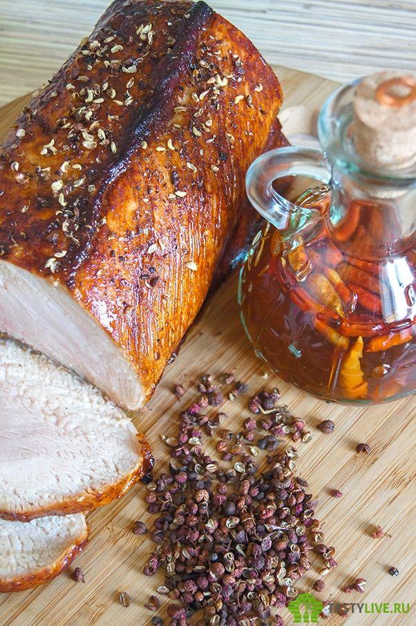 Свинина запеченная в духовке с соевым соусом и сычуаньским перцем | roast pork with Sichuan pepper and soy sauce