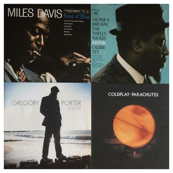 New #records #vinyl #jazz #coldplay #milesdavis #gregoryporter #monksdream
