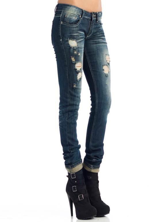 destroyed vintage wash five pocket jeans $35.70: A Mini-Saia Jeans, Ripped Jeans,  Blue Jeans, Jeans 3570,  Denim, Jeans Pants, Random Style, Pockets Jeans, Jeans 35 70