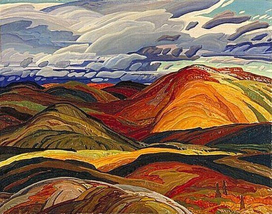 Autumn, 1940, Franklin Carmichael