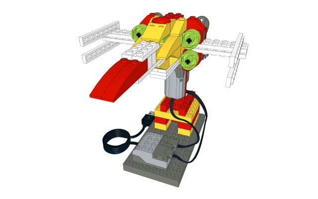X-WING StarCAMP LEGO WeDo Lesson plan