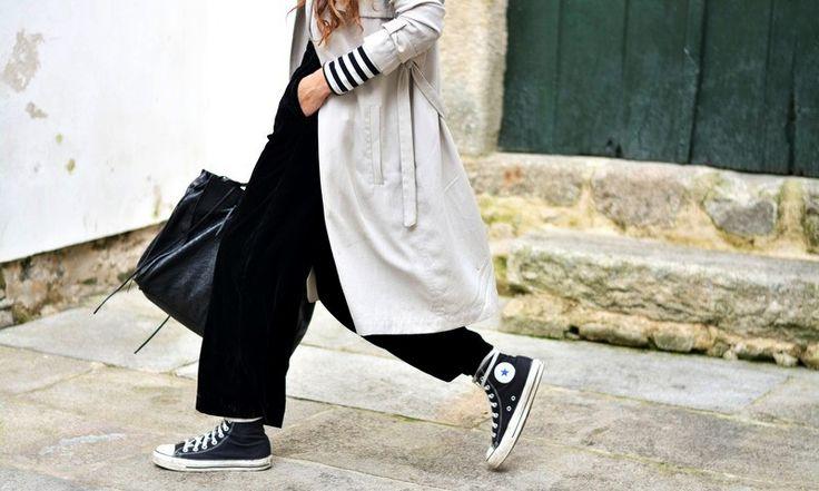 A Fresh Way To Wear Converse Sneakers For Spring | Bloglovin' Fashion | Bloglovin'