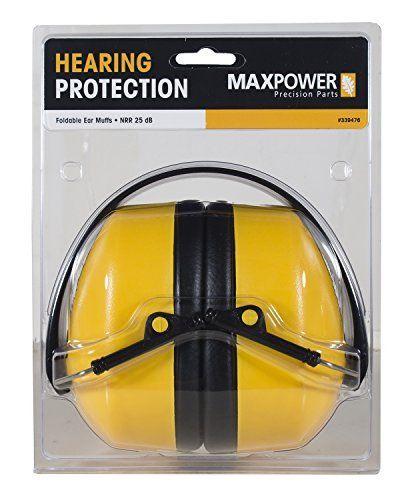 Maxpower 339476 Safety Ear Muffs NRR 25dB