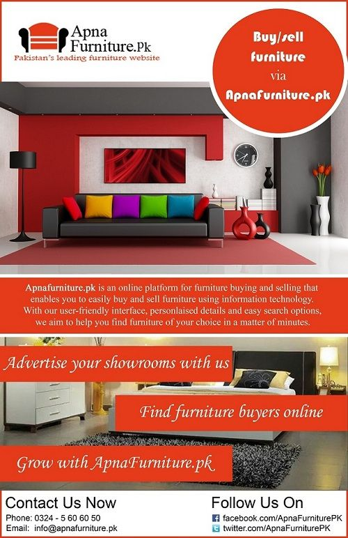 APNAFURNITURE.PK PAMPHLET IS OUT NOW!
