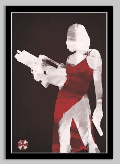 Resident Evil Poster - Umbrella Corporation - 24x36