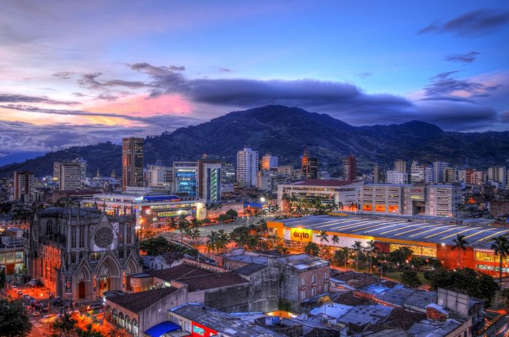 Colombia - Panorámica de Pereira, capital de Risaralda.