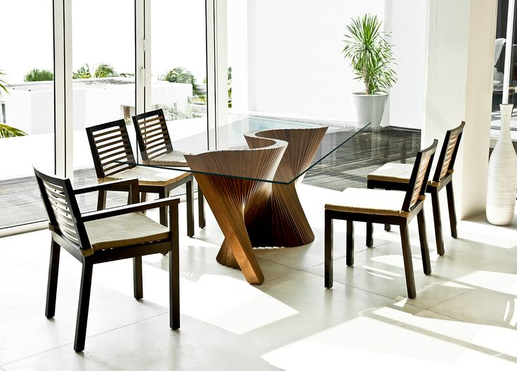 The Perfect Centerpiece For Your Dining Room Wave Is Modern