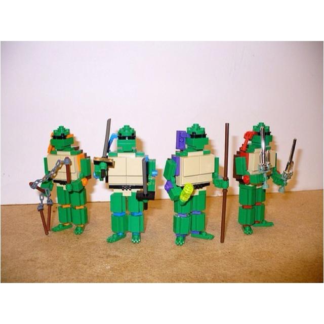 Teenage Mutant Lego Turtles!