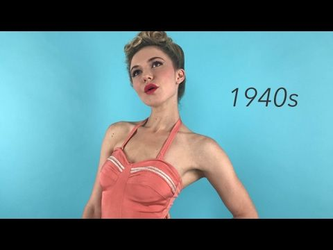 100 Years of Swimsuits | Condé Nast Traveler - YouTube