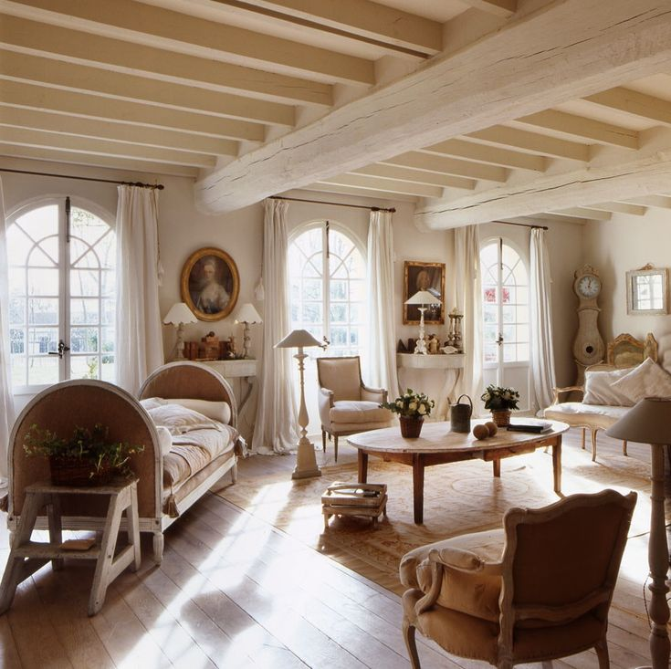 Maison Decor French Country Enchanting Yellow White: Savvy Southern Style, Bedrooms And Country French