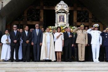 Presidente Medina Asiste A Misa Con Motivo Del Día De La Virgen De La Altagracia