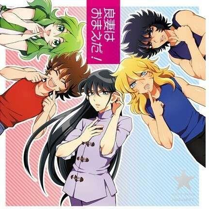Saint Seiya; Seiya,Shun,Hyoga,Ikki, Shiryu