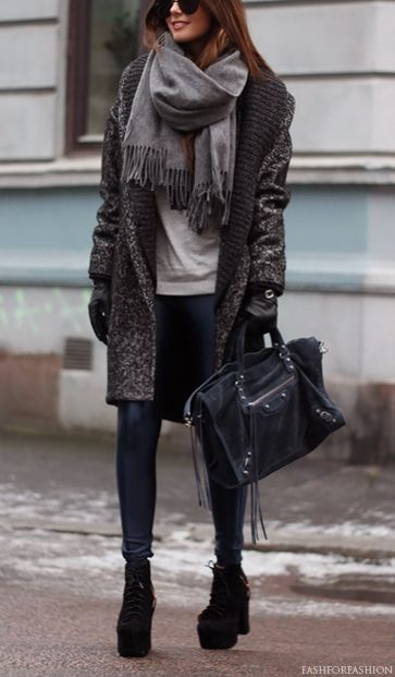 fashforfashion -♛ STYLE INSPIRATIONS♛: seasonal.....maybe I would wear this with booties instead but I love it