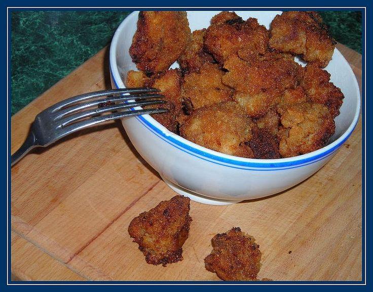 kuřecí škvarečky (pivní těstíčko,strouhanka)