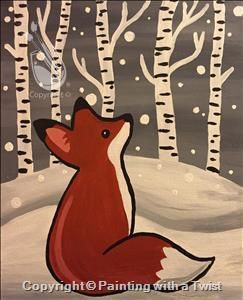 36 best animal canvas ideas images on pinterest art for for Painting with a twist fenton mi