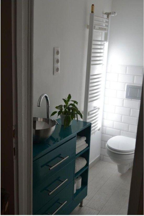 Rast bathroom vanity with salad bowl sink - IKEA Hackers