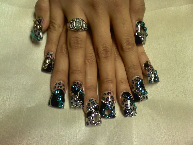 111 best nails crazy images on pinterest crazy nails nail crazy nail designs wild nail art archive style nails magazine prinsesfo Choice Image