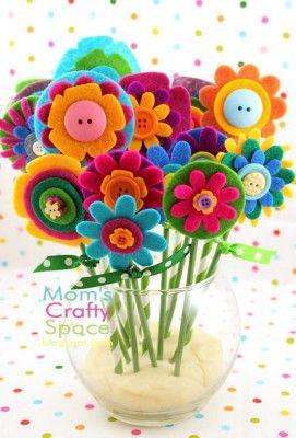 Regalos y manualidades dia de la madre Flores (1)