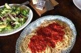 Marcella Hazan's tomato sauce, with a twist (from In Jennie's Kitchen)