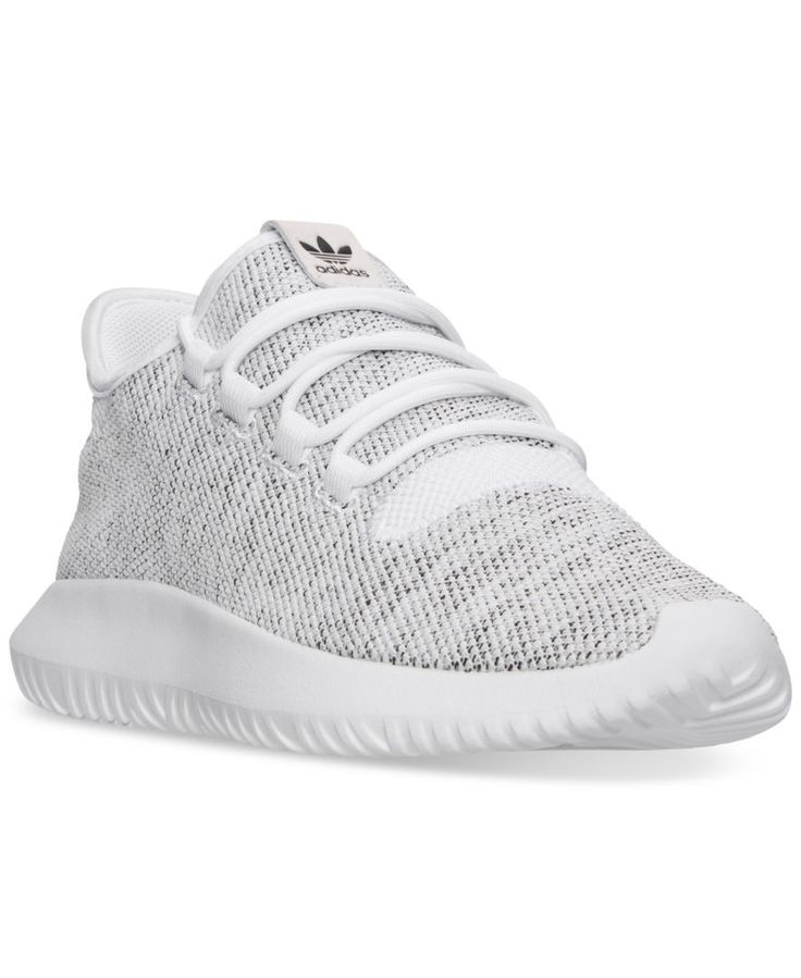 Upgrade your street style with the running-inspired look and feel of the adidas Men's Tubular Shadow Casual Sneakers. Featuring a minimal-style upper and inner tube-inspired Eva sole, these sneakers w