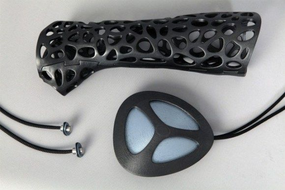 3D Printed Cast with Ultrasound Emitter Promises Faster Healing Times