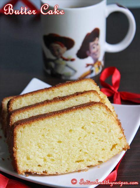 Simple butter cake recipe blog