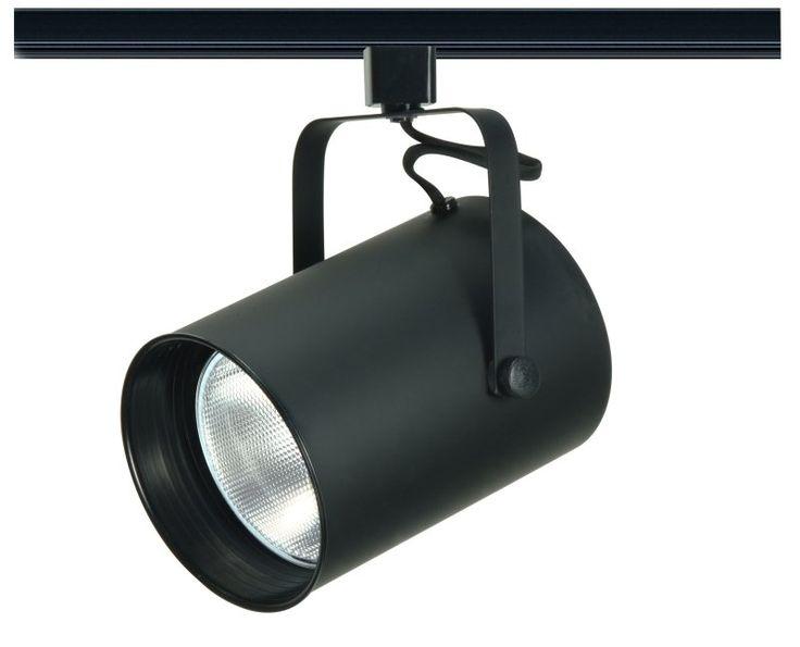146 best 15g lighting images on pinterest chandelier lighting buy the nuvo lighting th284 single light r40 straight cylinder track head in black finish aloadofball Gallery