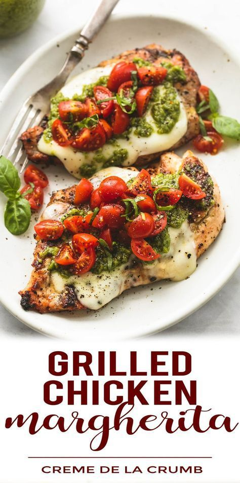 Grilled Chicken Margherita   All About Recipes