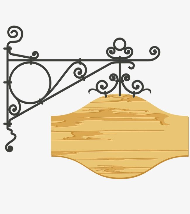 Decorative Signpost Mupai Hand Painted Png And Vector Paint Vector Decor Sign Post