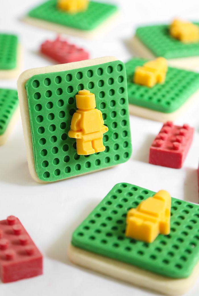 Lego Cookies | Sprinkle Bakes
