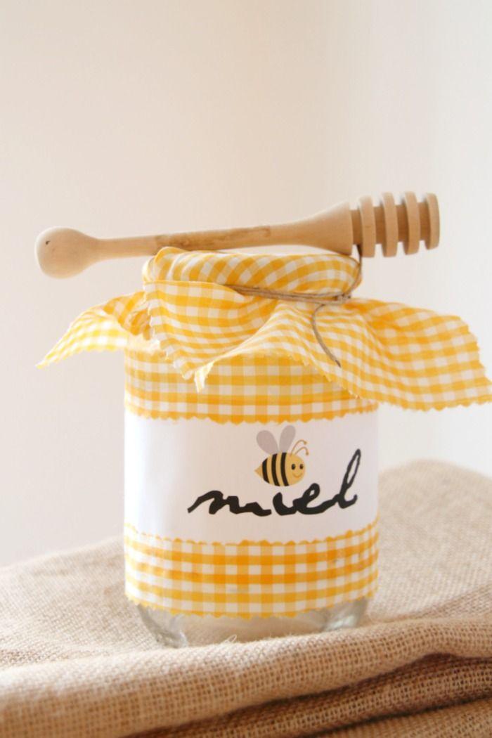 free label printable for a honey jar