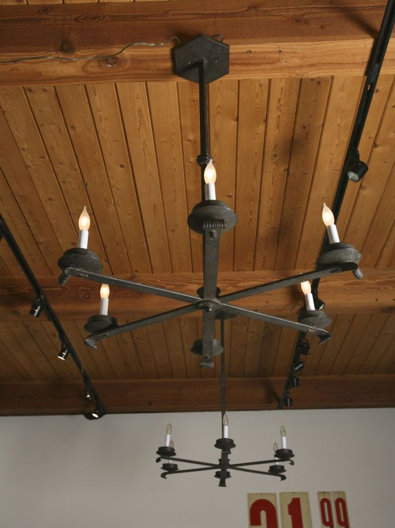 vintage hand forged iron chandeliers by paul ferrante - Paul Ferrante Chandelier