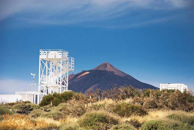 Największe obserwatorium astronomiczne świata prowadzące obserwacje słońca.  #Teneryfa #Teide