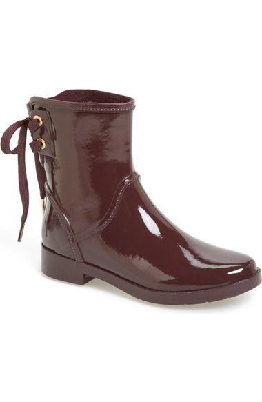 MICHAEL Michael Kors 'Larson' Rain Bootie (Women) available at #Nordstrom