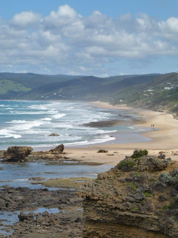 View from Anglesea viewpoint, Great Ocean Road - Ive walked up and down this beach 100 times, slept on it, partied on it and meditated on it.