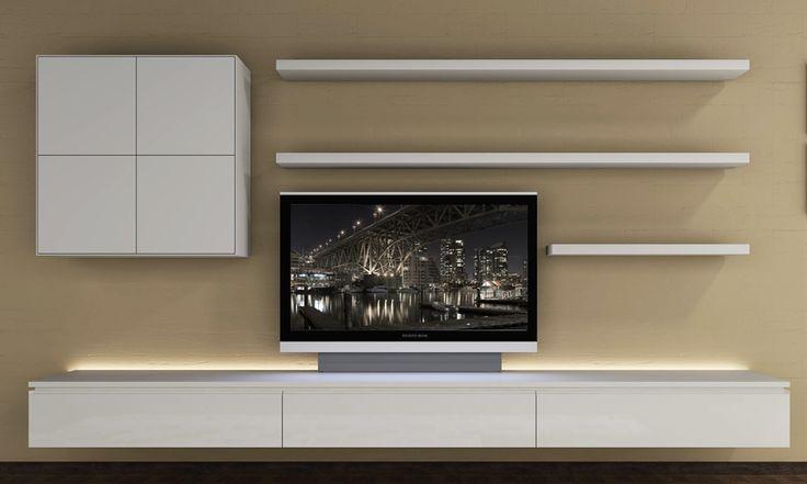 Best 25+ Floating tv unit ideas on Pinterest   Floating tv ...