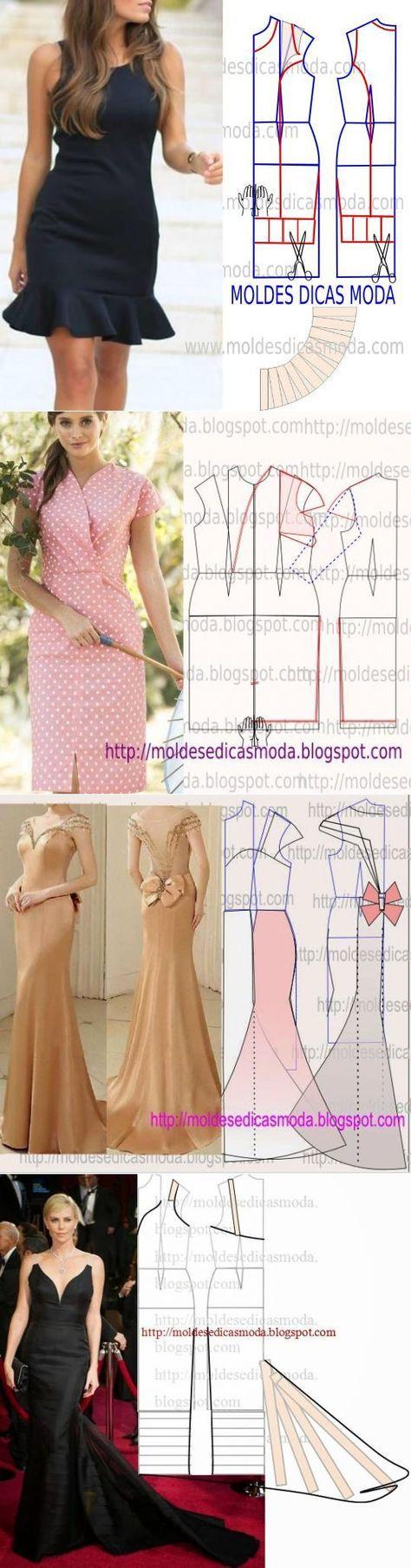 >Платье+выкройка .(18 часть)