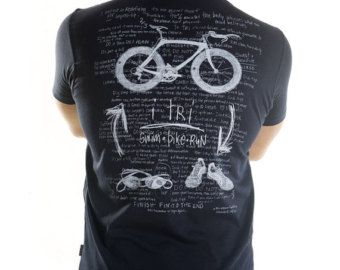 I TRI Men's Triathlon T Shirt