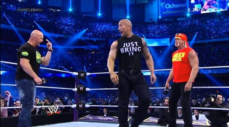 WWE may be in talks with The Rock, Stone Cold Steve Austin and Hulk Hogan to participate in the special program of the 25th anniversary of Monday Night Raw.  While it is strange in the case of Hogan for his accusations of racism, and also for his sexual scandal, the company wants him to be back on Raw for the celebration.   ##HulkHogan ##WWE #25thRawAnniversary #MondayNightRaw #Sting #StoneColdSteveAustin #TheRock #WrestlingNews