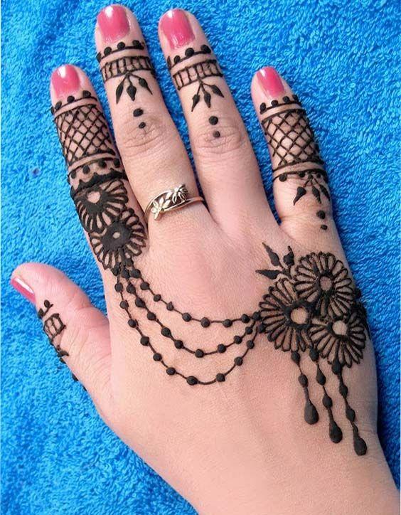 30 Latest Mehndi Designs For Back Hands 2018 Mehndi Henna Designs
