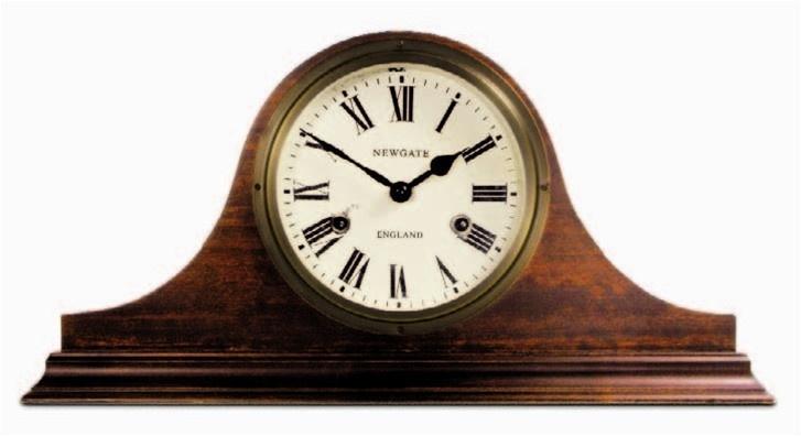 Brompton Mantel Clock design by Newgate