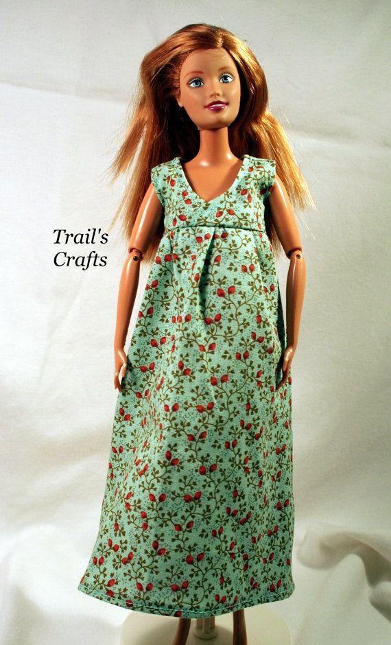Pregnant Barbie Dress