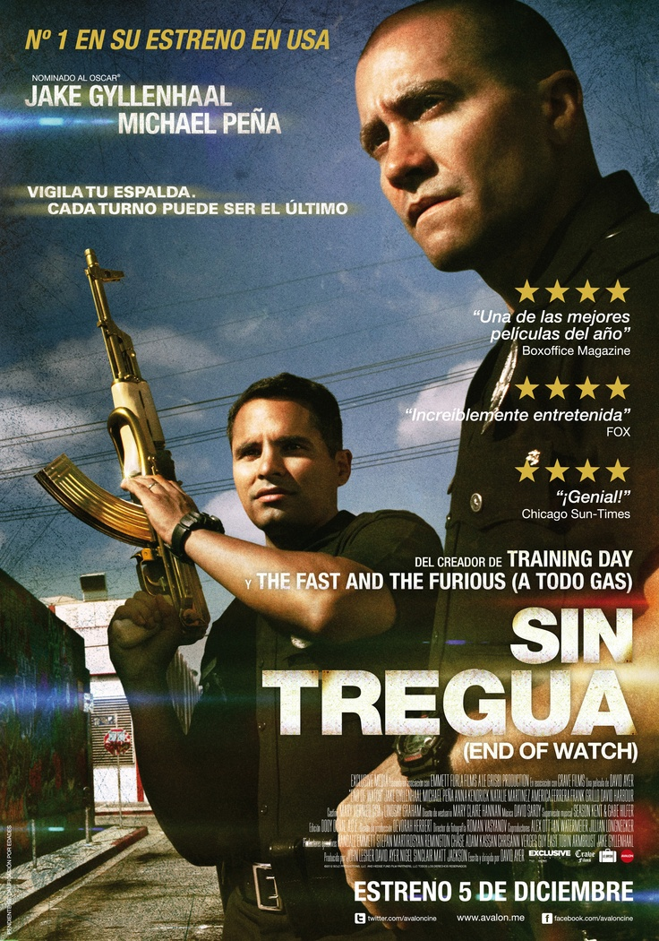 2012 - Sin tregua - End of Watch