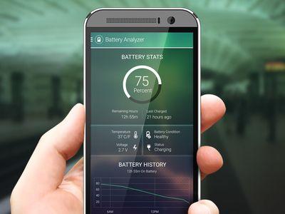Battery Analyzer Page