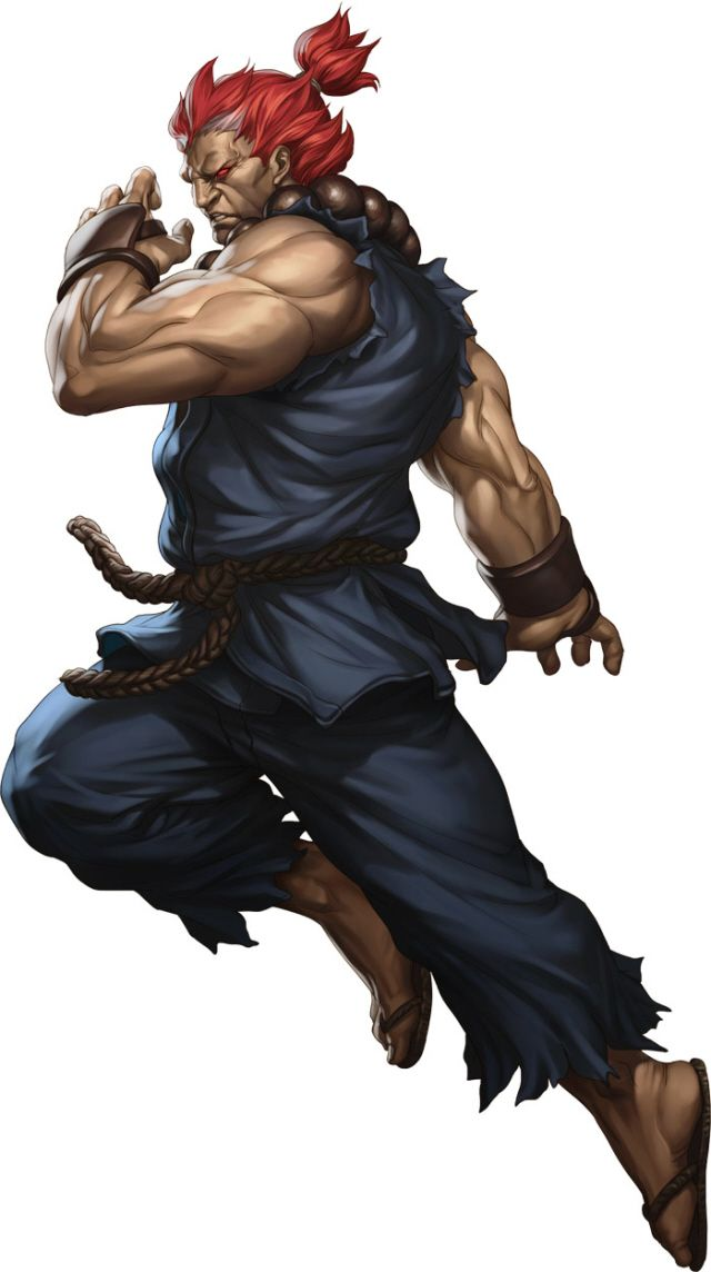 Street Fighter 3 Online Edition Akuma Characters List Artwork (videogamesblogger, 01/17)