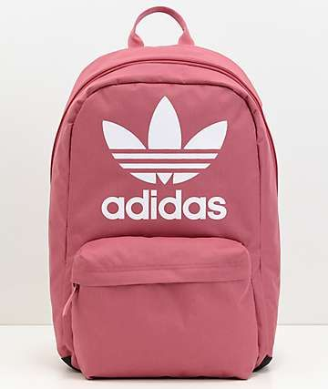 Adidas Originals Big Logo Dark Pink Backpack In 2019 My Love
