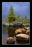 First Snow at Mississippi Headwaters