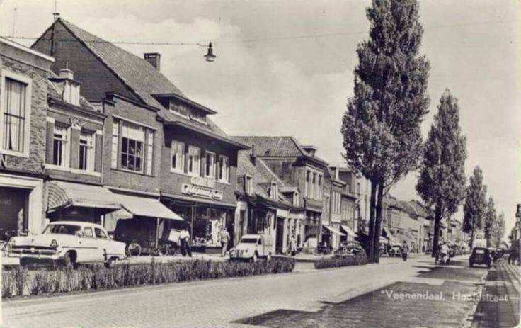 Hoofdstraat Veenendaal 1960