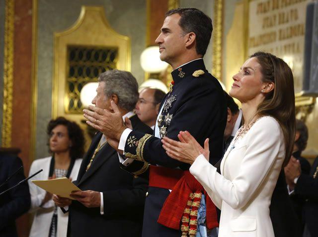 La proclamación de Felipe VI en fotos