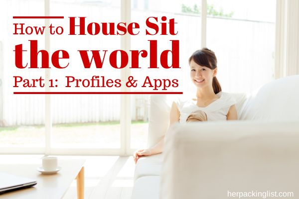 how to house sit around the world